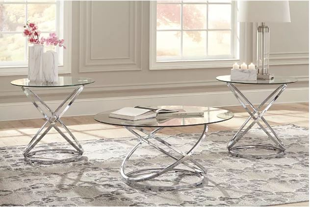 Hollynyx Occasional Table Set