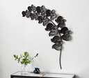 Metal Orchid Wall Decor