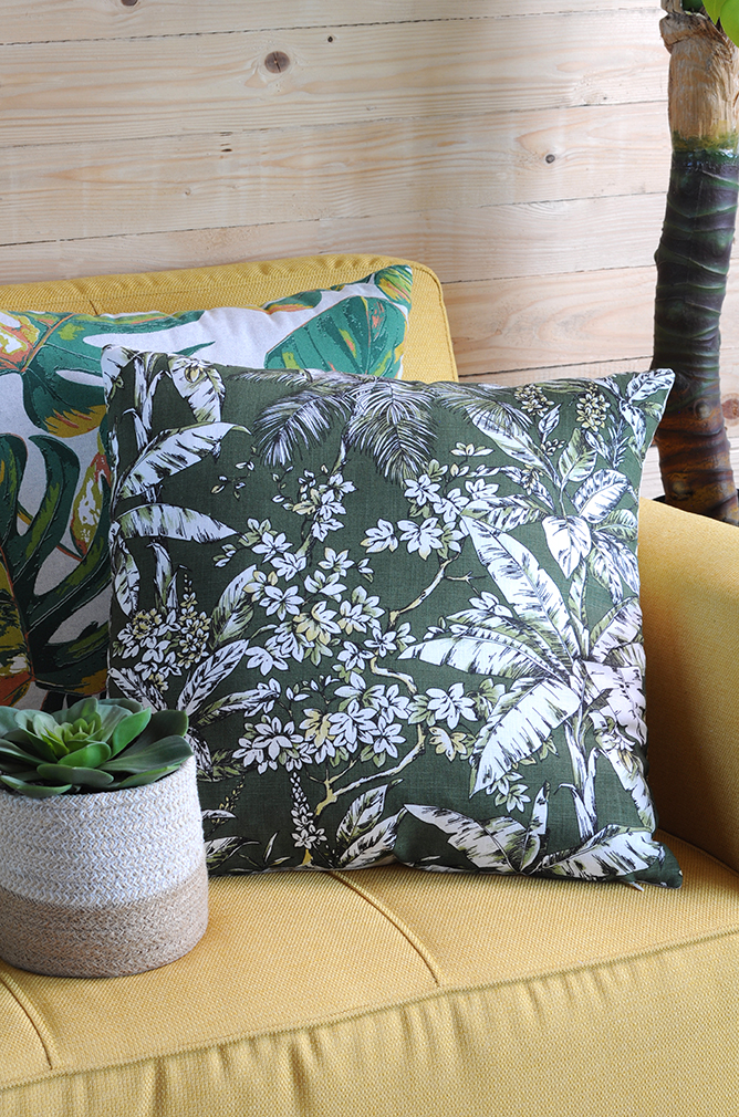 Barbade Pillow Green 50x50
