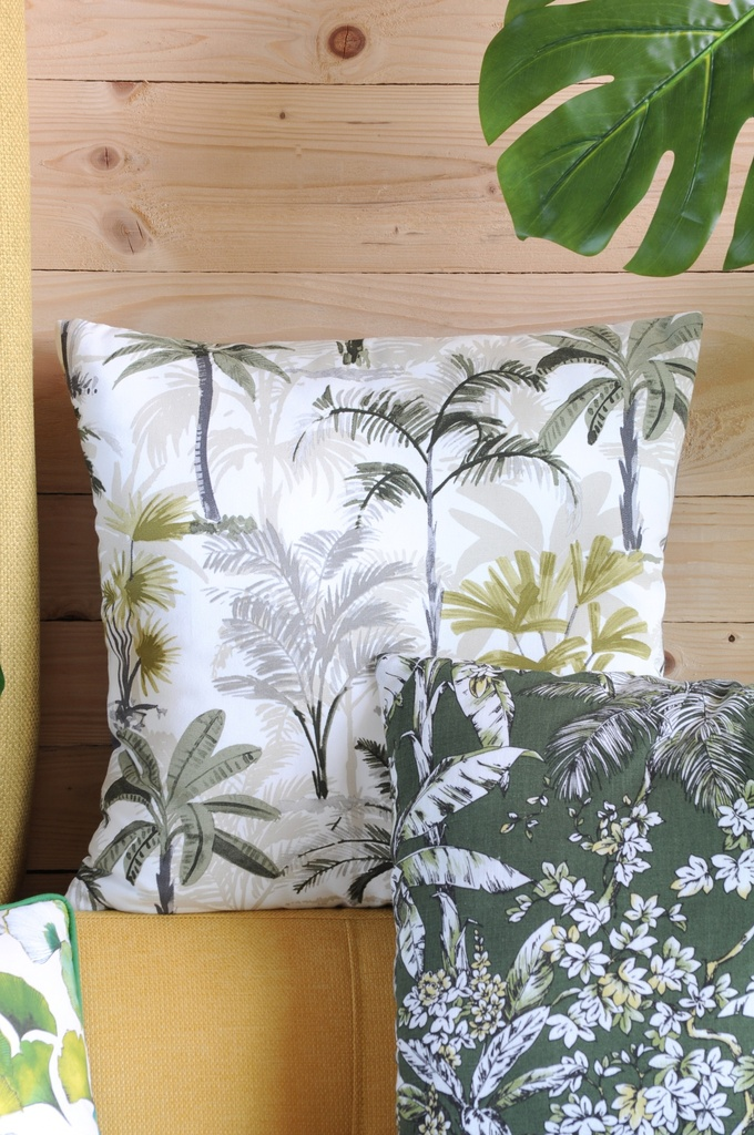 Zanzibar Palms Pillow 20in