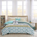 Arissa Comforter Set Queen Green