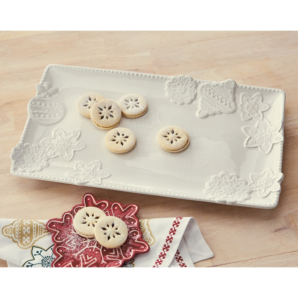 Buttercream Rectangular Cookie Platter