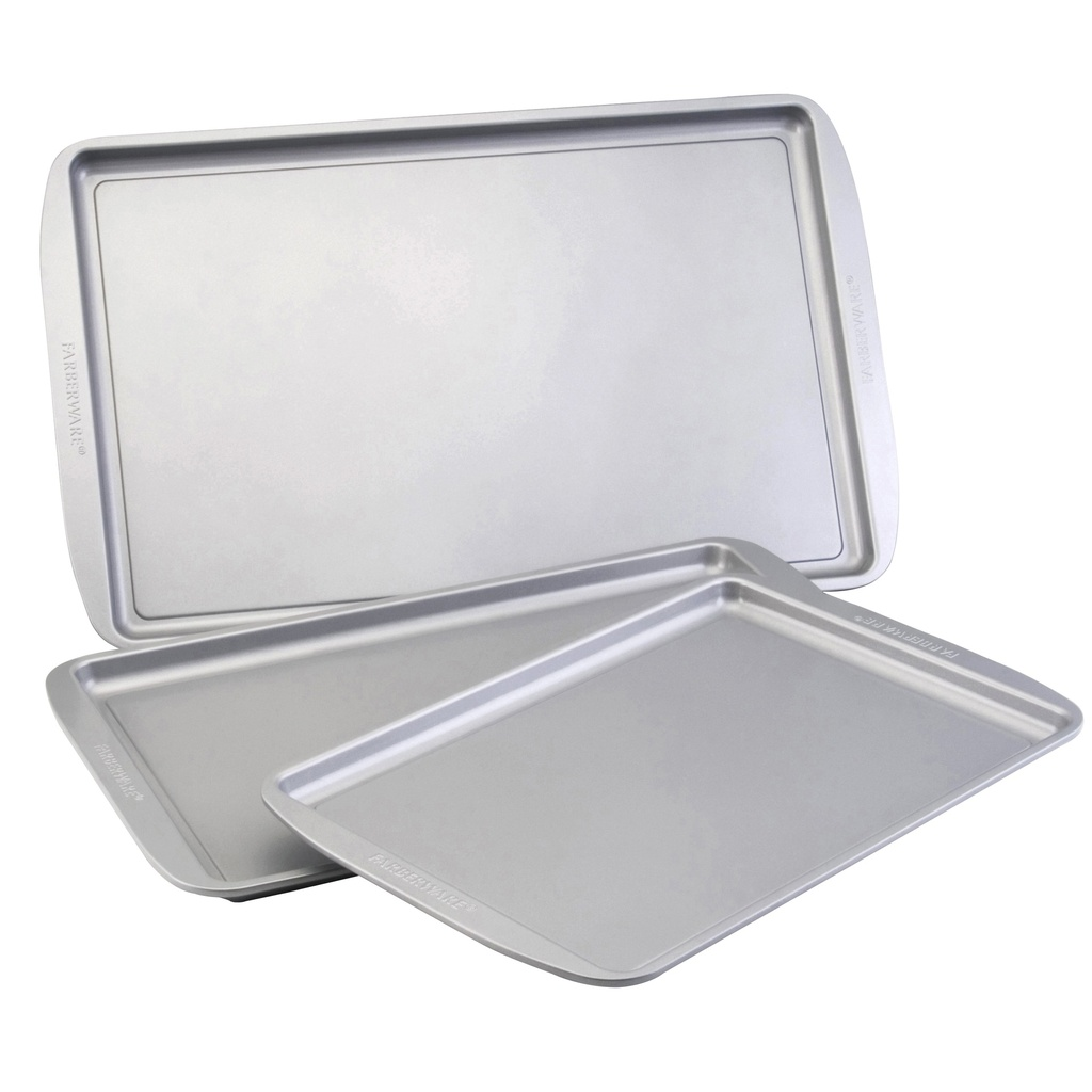 Farberware 3 Pc Cookie Pan Set