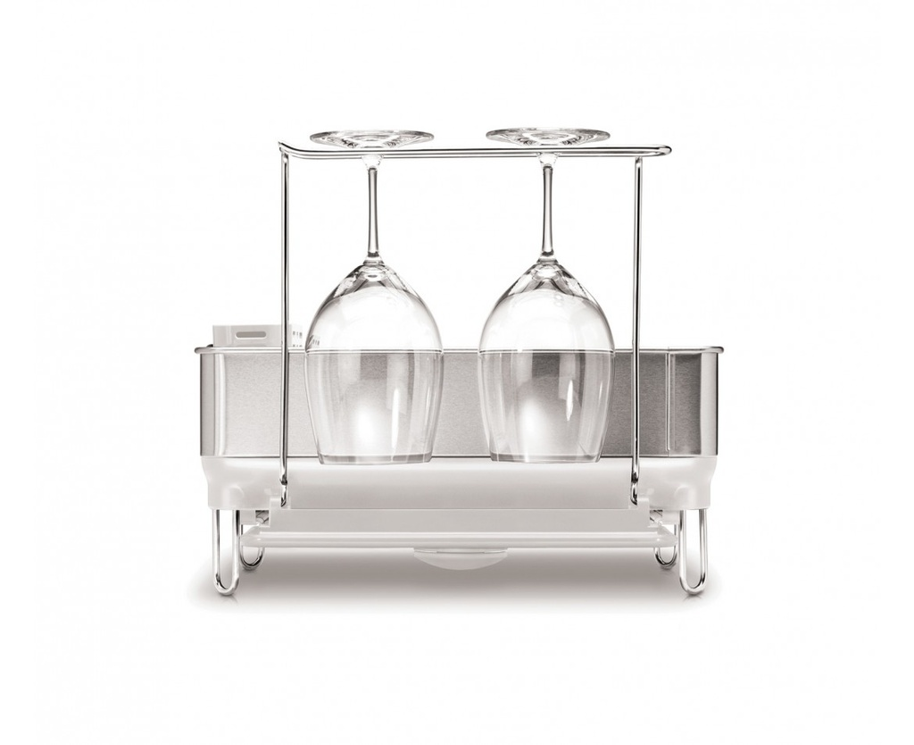 Compact Steel Dishrack Gray
