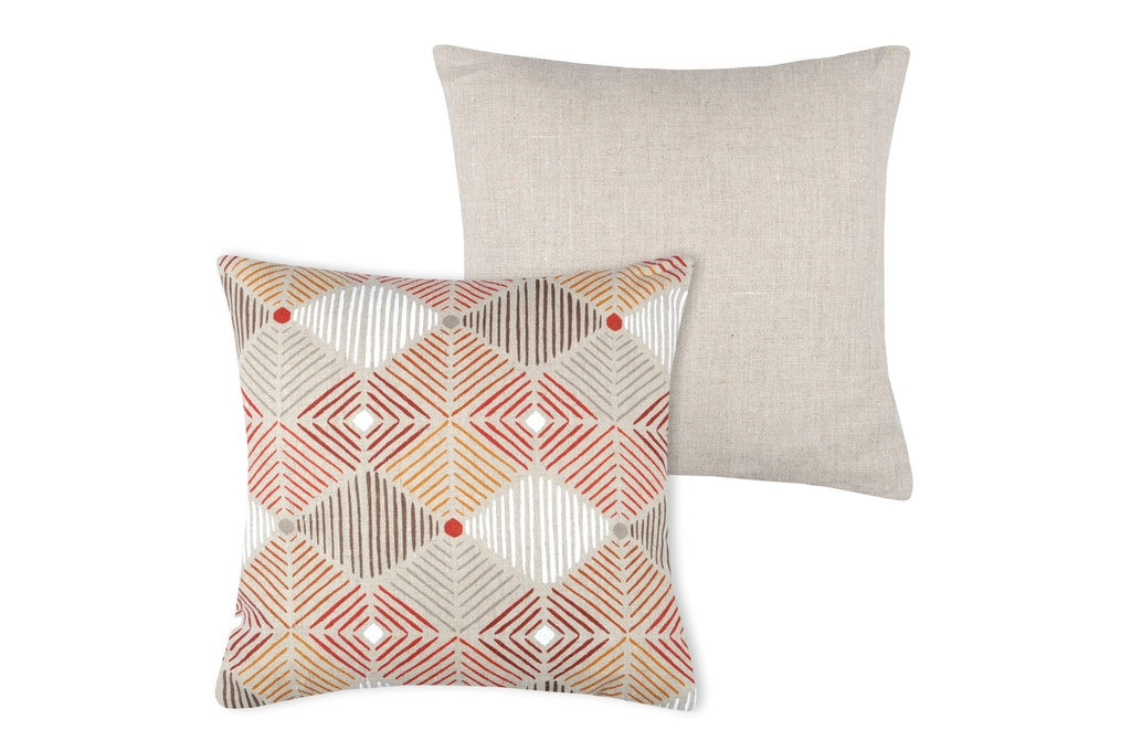 Riga Pillow Red 16in
