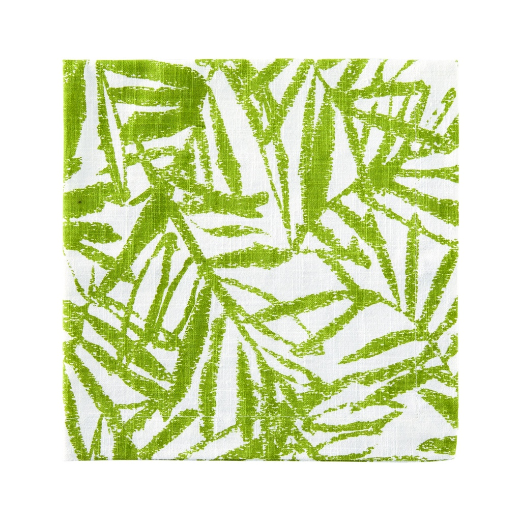 Bending Palms Green Napkin