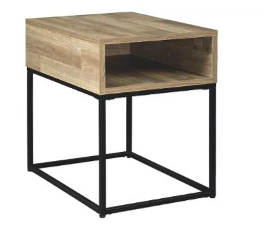 Gerdanet End Table Natural