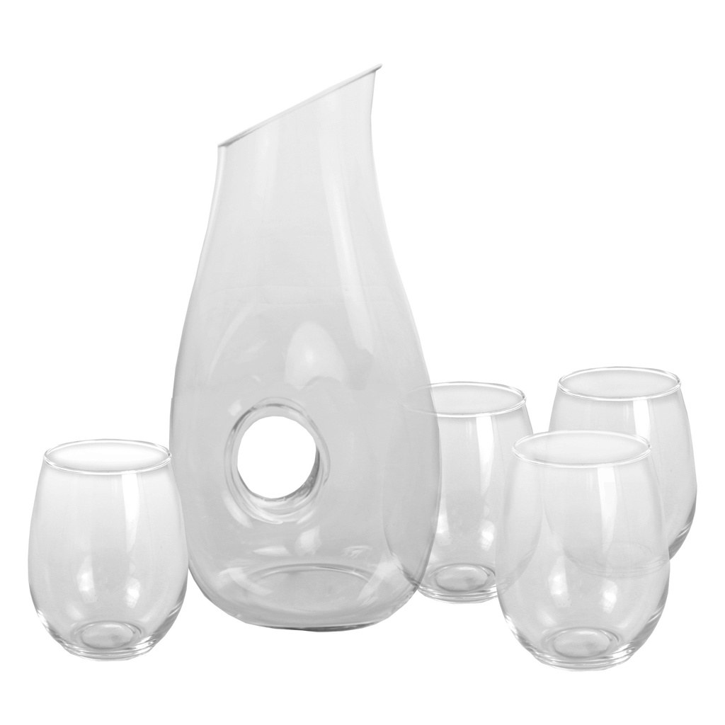 Gibson Home Ringo 5pc Pitcher Set