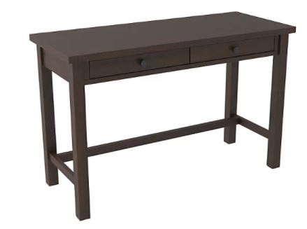 "Camiburg 47"" Home Office Desk Warm Brown"