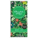 [200074-BB] Chocolate and Love Organic Fairtrade 67% Dark Chocolate Mint Bar 80g
