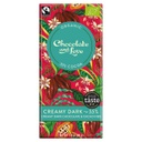 [200076-BB] Chocolate and Love Organic Fairtrade 55% Creamy Dark Chocolate with Cacao Nibs 80g