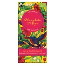 [200080-BB] Chocolate and Love Organic Fairtrade Milk Chocolate 50% with Caramel, Hazelnut and Sea Salt 80g