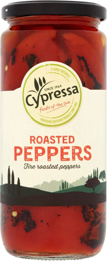 Cypressa Roasted Peppers 465g
