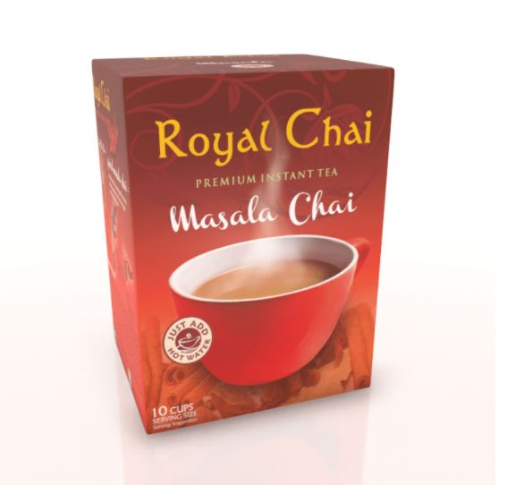 Royal Chai Masala Unsweetened Box of 10