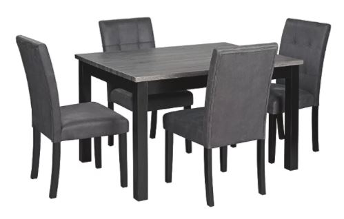 Garvine Dining Table and Chairs Two-tone