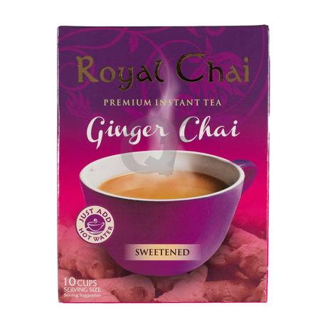 Royal Chai Ginger Sweetened Box of 10