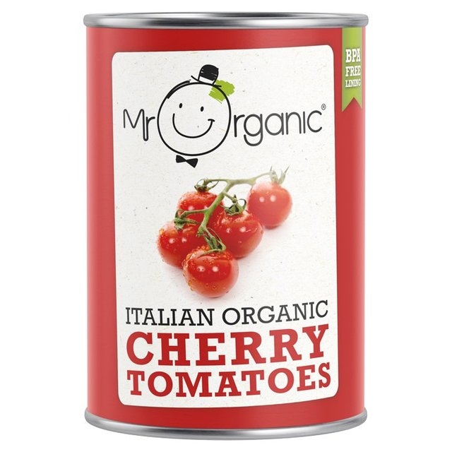 Mr Organic Italian Cherry Tomatoes 400g