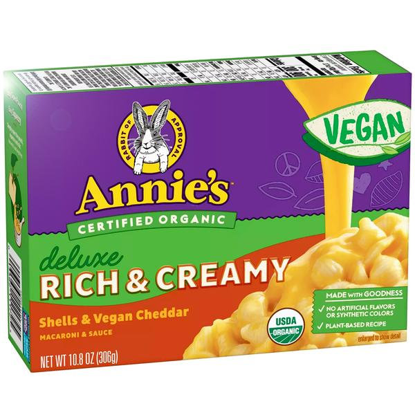 Annies Organic Vegan Mac and Cheese 10.8oz