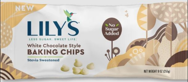 Lily's White Chocolate Baking Chips 9oz
