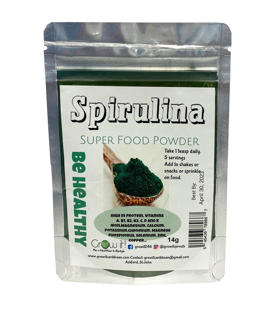 Grow It Spirulina Powder