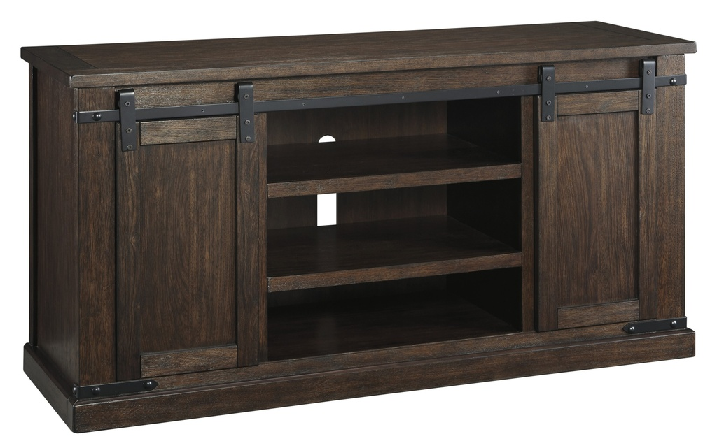 "Budmore 60"" TV Stand Rustic Brown"