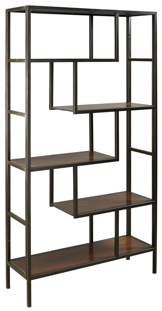 Frankwell Bookcase Brown/Black