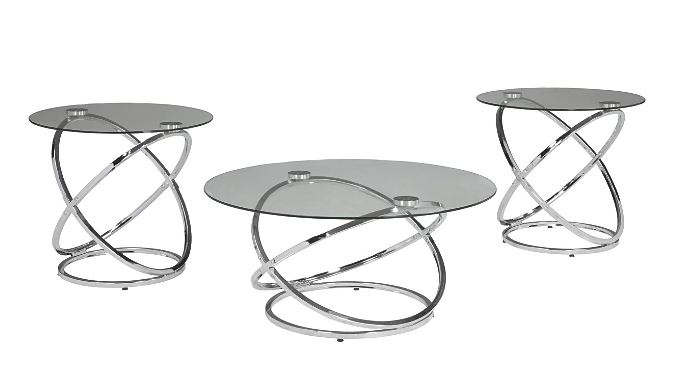 Hollynyx Table Chrome Finish