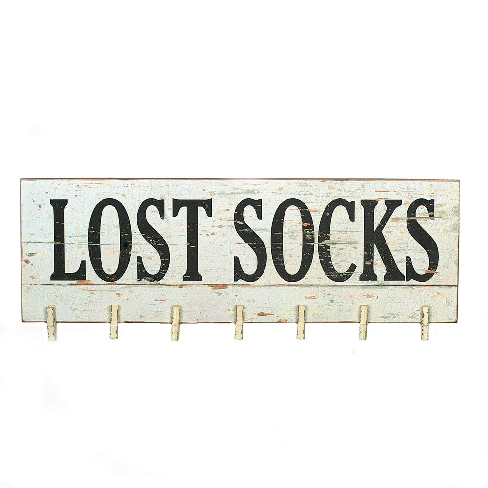 Lost Socks Wall Decor