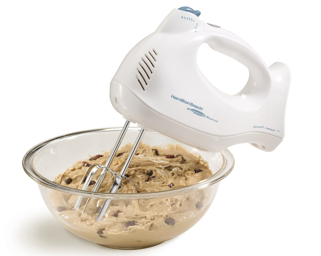 HB Hand Mixer w Case 6-Speed