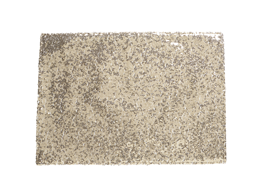 Luxe Sequin Placemat Gold