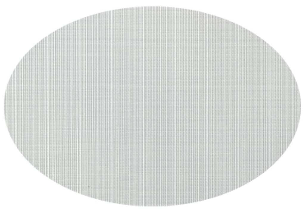 Linnea Oval Placemat Silver