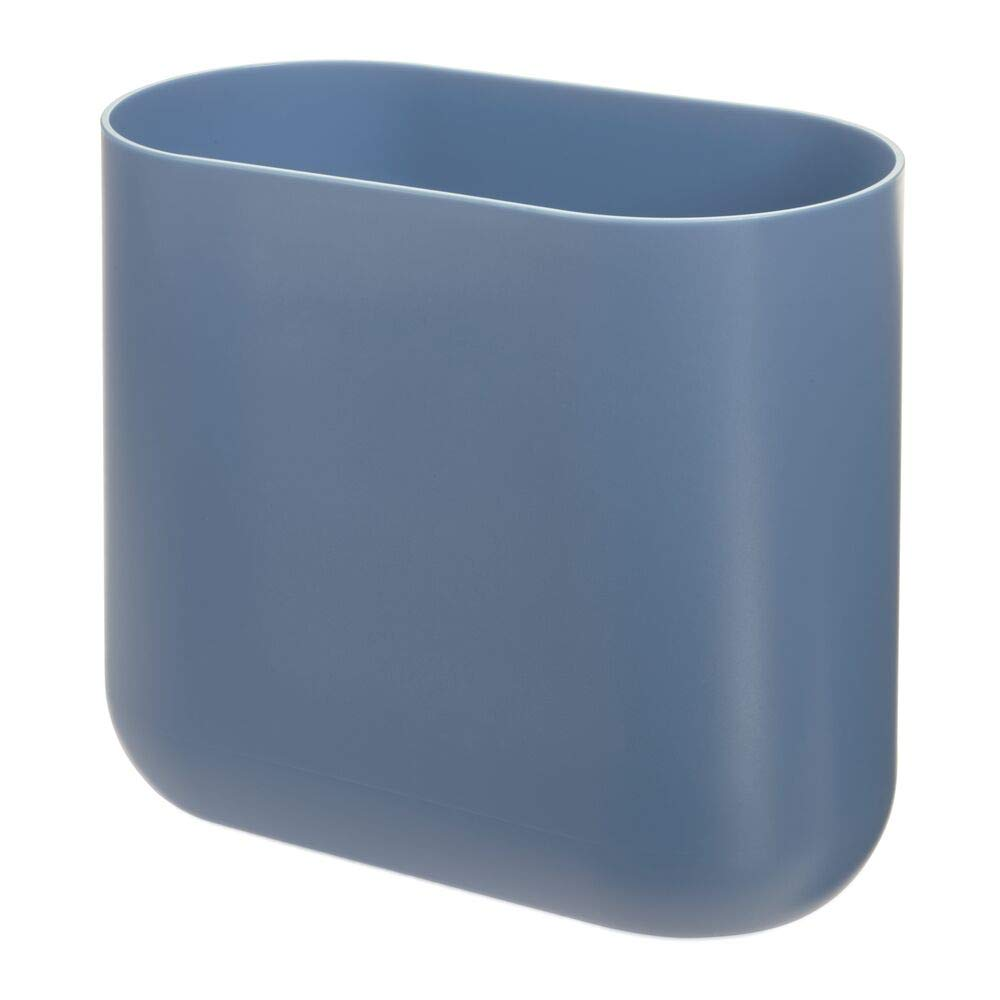Cade Slim Waste Can Dusty Blue