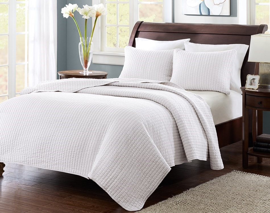 Keaton 3 Pc Coverlet Set Kg Wh