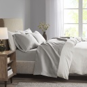 Microcell Sheet Set Queen Grey