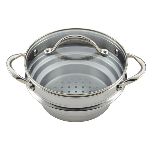 [133696-BB] Anolon Universal Steamer with Lid