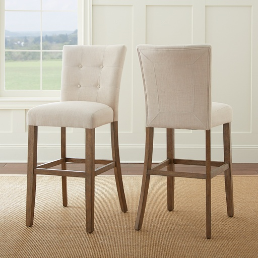[148043-BB] Debby Counter Chair Beige