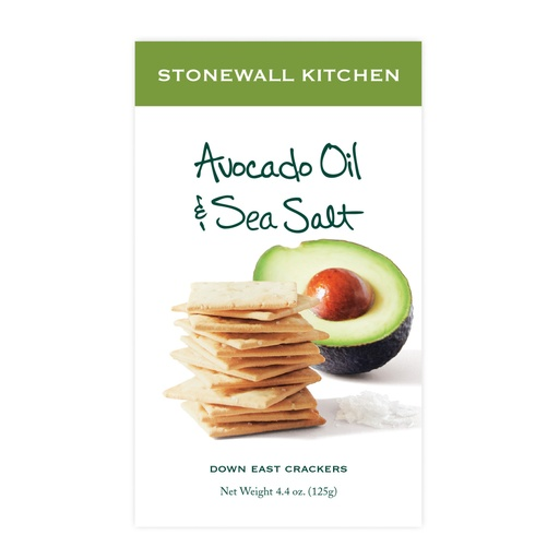 [158111-BB] Stonewall Avocado Oil Sea Salt Crackers 5oz