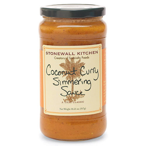[143436-BB] Stonewall Coconut Curry Simmering Sauce 18.25oz