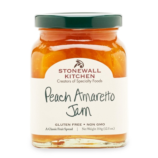[158101-BB] Stonewall Peach Amaretto Spread 12.5oz