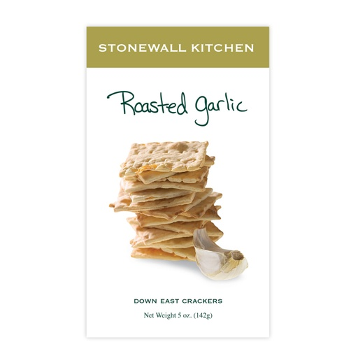 [158112-BB] Stonewall Roasted Garlic Crackers 5oz