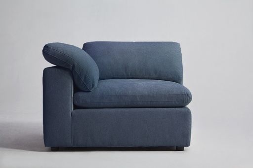 [160016-BB] Haven Sectional Corner Steel Blue