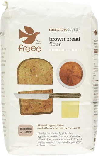 [200010-BB] FREE by Doves Brown Bread Flour Free From Gluten 1kg