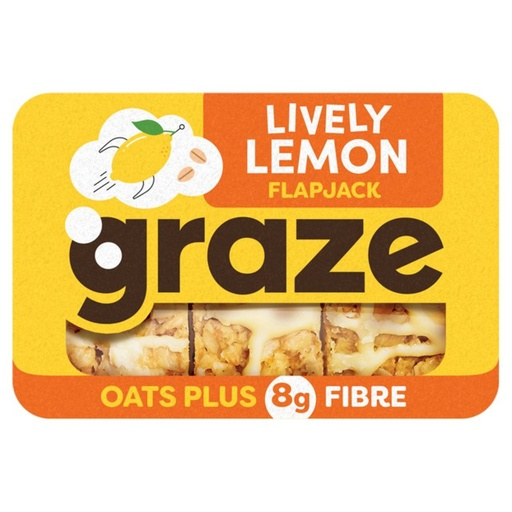 [200017-BB] Graze Lively Lemon Flapjack 53g