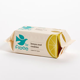 [200088-BB] Freee by Doves Lemon Zest Cookies 150g