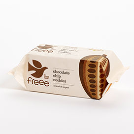 [200089-BB] Freee by Doves Chocolate Chip Cookies 180g
