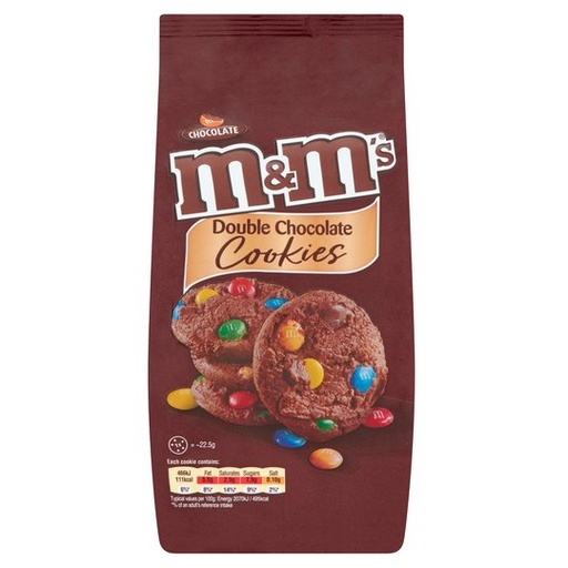 [200100-BB] M&M's Double Chocolate Cookies 180g