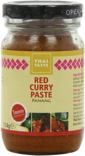 [200113-BB] Thai Taste Red Curry Paste 114g