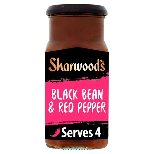 [200121-BB] Sharwood's Black Bean & Red Pepper Chinese Cooking Sauce 425g