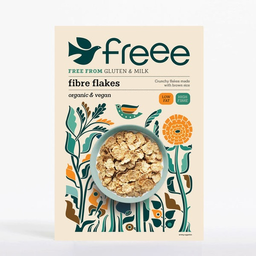 [200180-BB] FREE by Doves Organic Fibre Flakes 375g