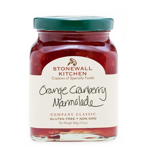 [200262-BB] Stonewall Orange Cranberry Marmalade 13oz